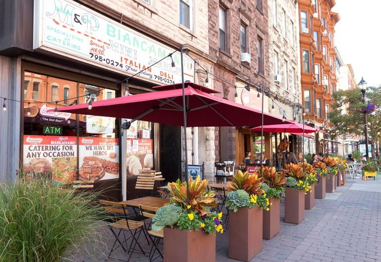 Italian deli in Hoboken, New Jersey, United States - 2D63NRB