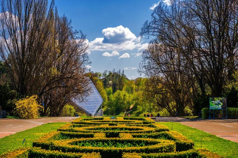 KYIV - 2018: M. Hryshko National Botanical Garden (Ukraine)