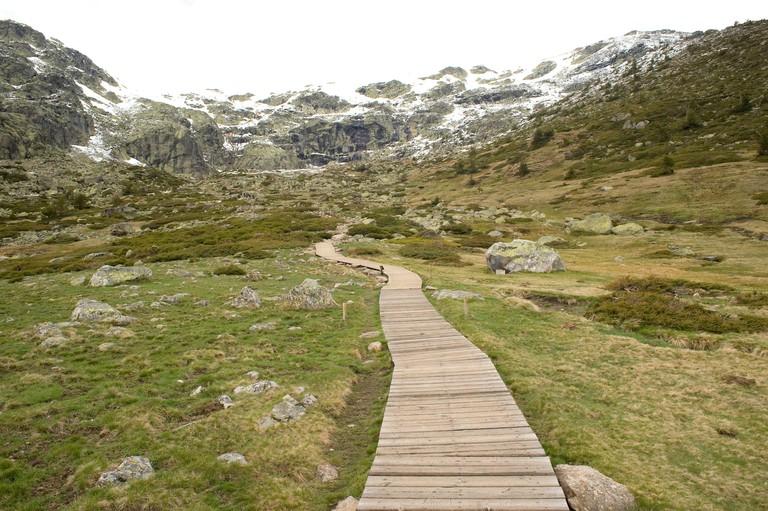 Penalara, Sierra de Guadarrama National Park. Rascafria, Comunidad de Madrid, Spain.