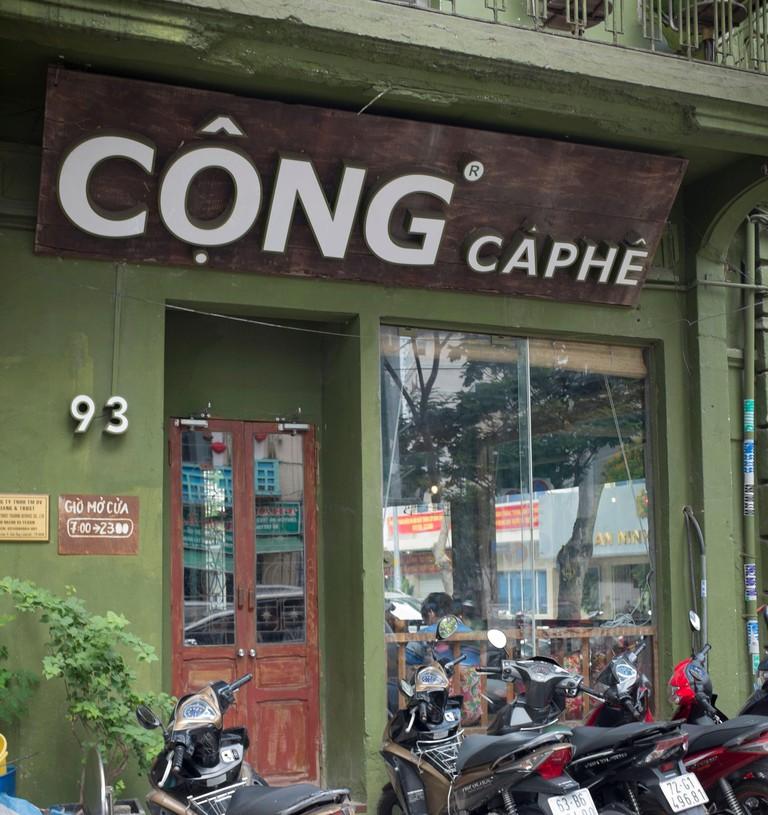 Cong Caphe Cafe Ho Chi Minh City Vietnam