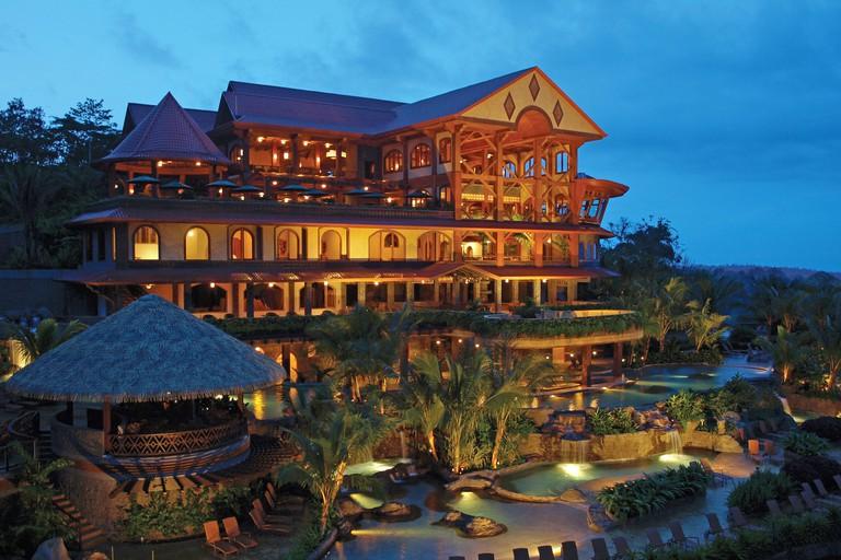 The Springs Resort & Spa at night