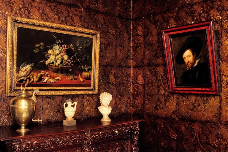 Belgium, Antwerp (Antwerpen), Rubens' house, Wapper 9 11