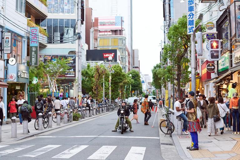 W0G3AR Amerika-mura (American Village), Shinsaibashi, Osaka