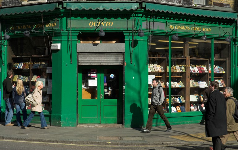 Quinto Bookstore, Charing Cross Road, London