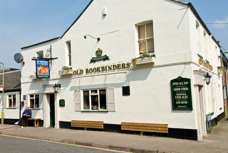 The Old Bookbinders pub in Canal Street, Jericho, Oxford, England