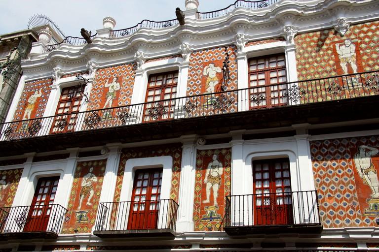 Casa de los Munecos, BUAP, University Museum, Puebla, Mexico. A UNESCO World Heritage Site famous for it's Talavera Tiles.