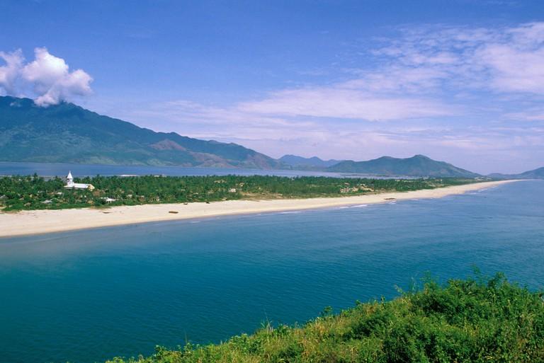 Asia, Vietnam, Central Vietnam. Lang Co Beach.