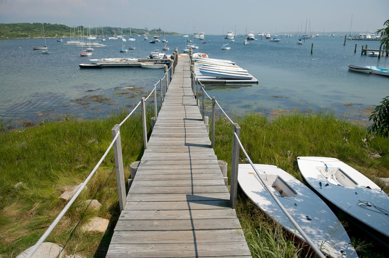 Cuttyhunk Island Massachusetts. Image shot 08/2008. Exact date unknown.