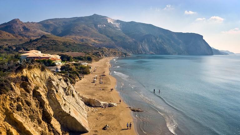Kalamaki Beach, Zante, Ionian Islands Greece.. Image shot 2008. Exact date unknown.