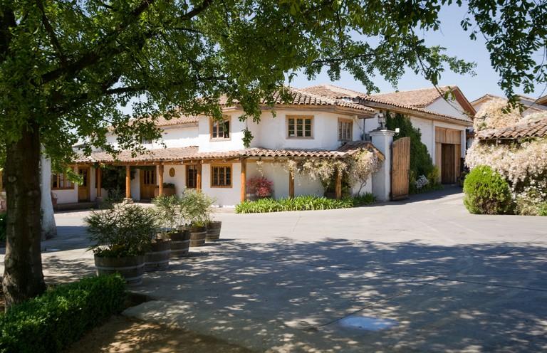 Casa Silva winery and vineyard, Colchagua Valley, Chile