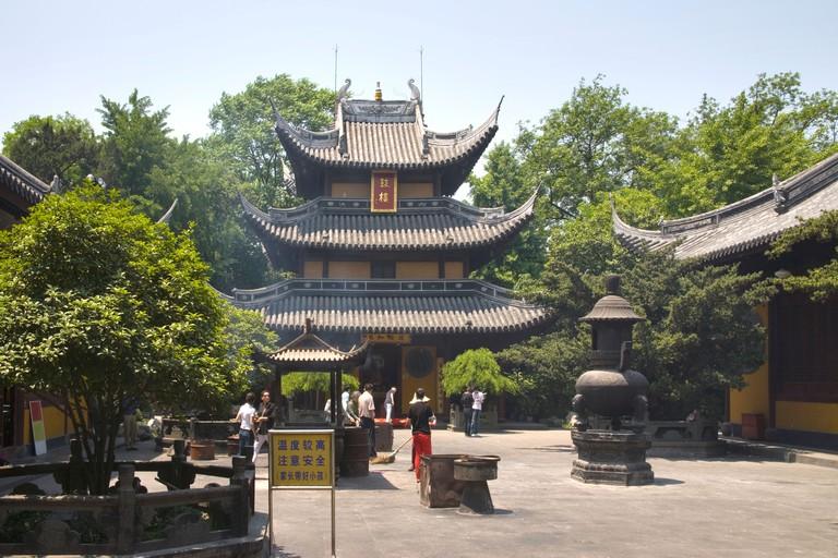 longhua temple shanghai china