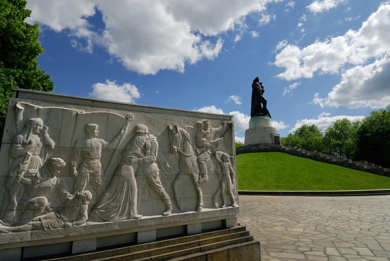 Berlin Germany Soviet War Memorial in Treptower Park