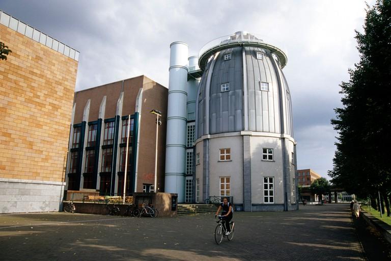 Bonnefanten Museum, architect Aldo Rossi, Maastricht, province of Limburg, Netherlands, Benelux, Europe