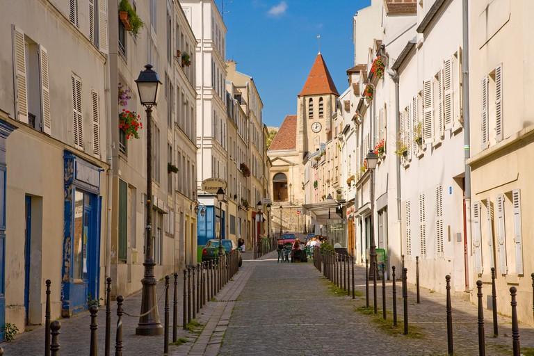 CHARONNE DISTRICT, PARIS. Image shot 04/2019. Exact date unknown.
