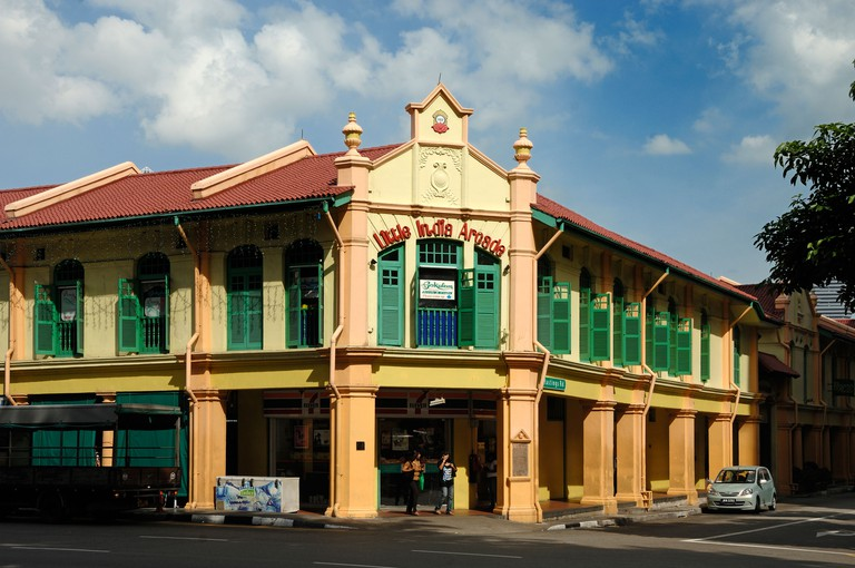Little India Shopping Arcade, Converted from Restored Colonial-era Shophouses, Little India, Singapore