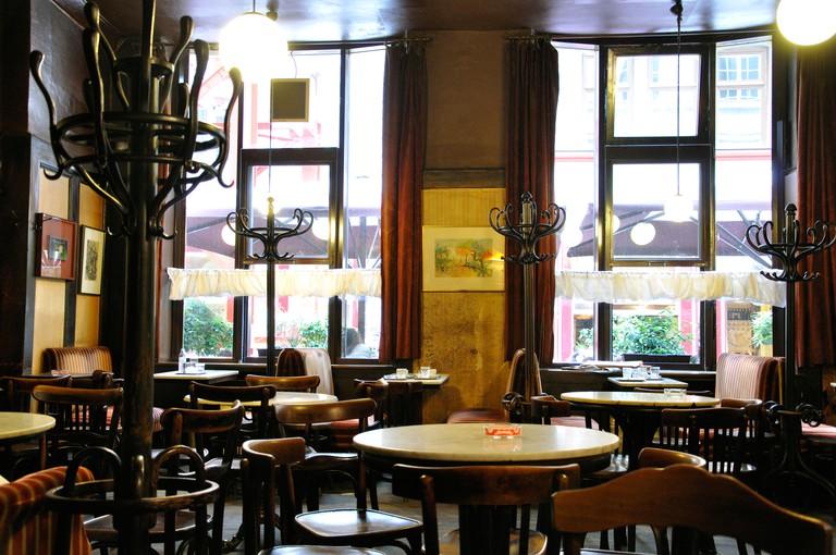 Cafe Hawelka, Vienna, Austria - one of the oldest cafes in Vienna