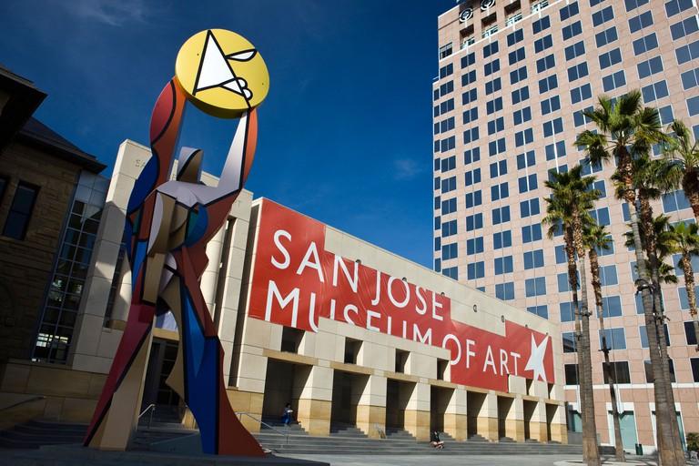 New Wing of the San Jose Museum of Art, San Jose, California, United States of America.