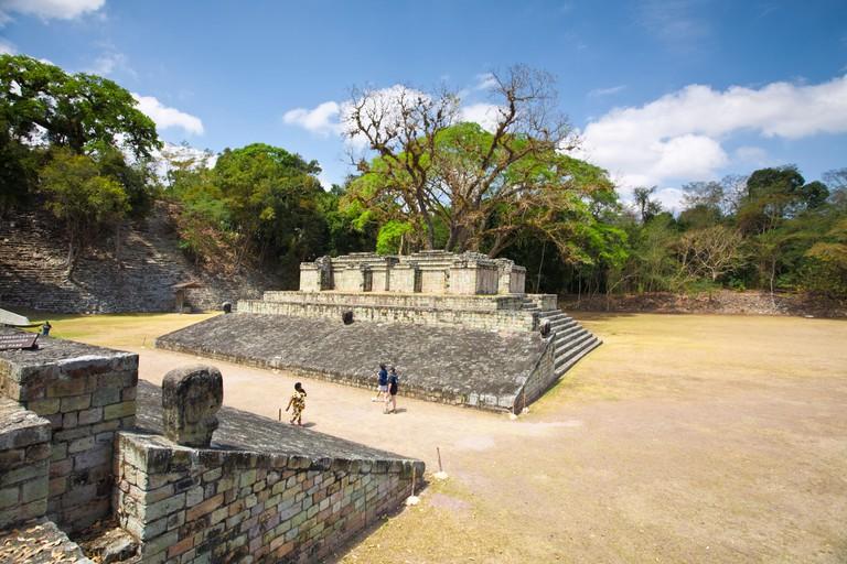 Central Plaza, Copan, UNESCO World Heritage Site, Honduras, Central America
