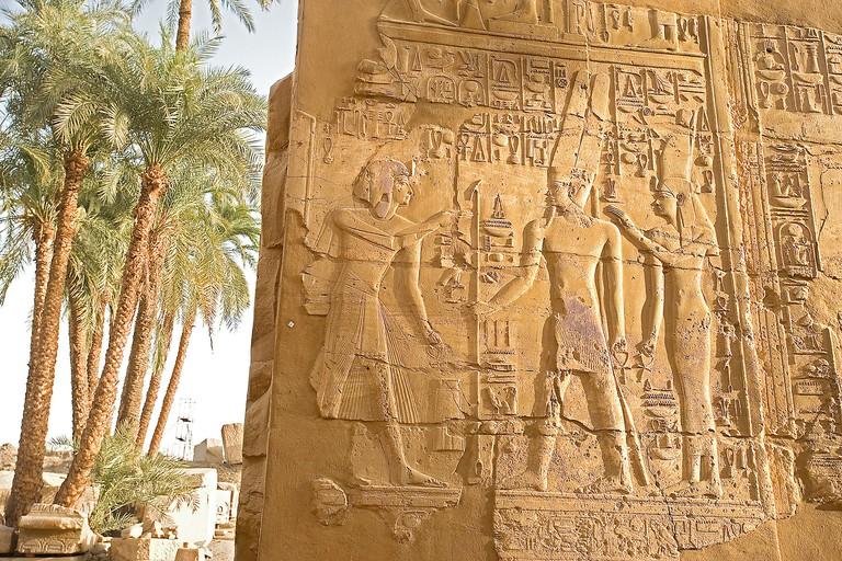 Temple of Amon-Ra,El Karnak,Egypt