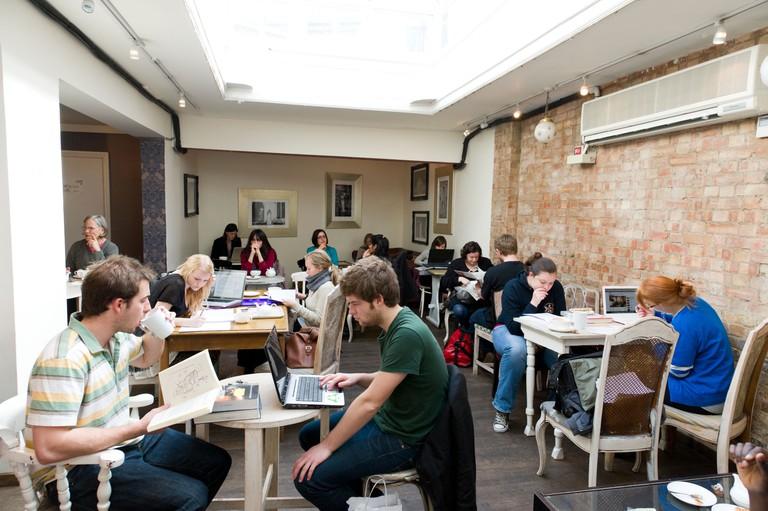 Yumchaa cafe, London, England, UK