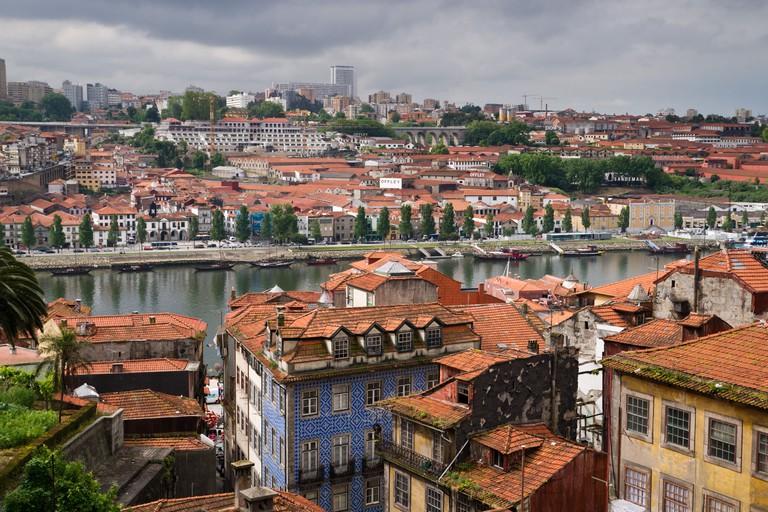 Old town of Oporto and Vila Nova de Gaia. Porto (Oporto), Portugal.