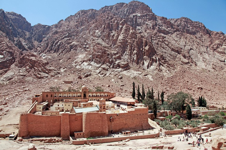 St. Catherine's Monastery, South Sinai Peninsula, Egypt