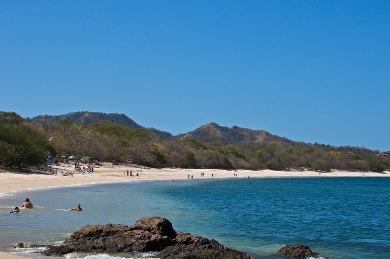 Playa Conchal beach Guanacaste Pacific Ocean Costa Rica