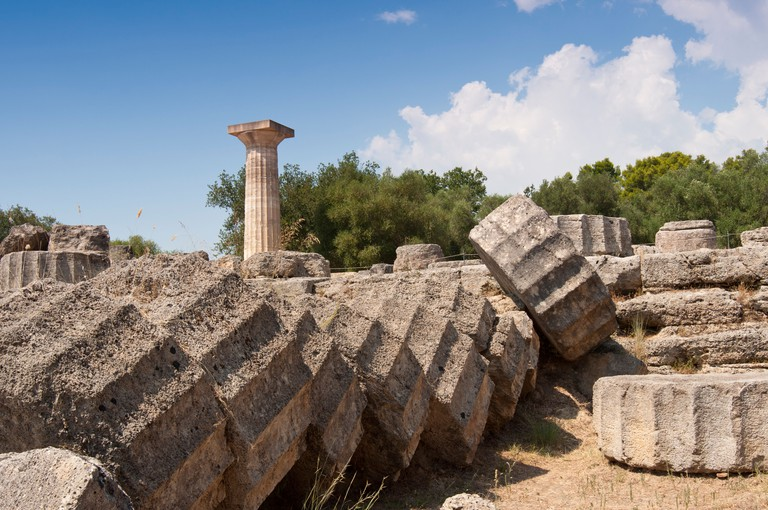 Olympia, Greece. Birthplace of the Olympics.
