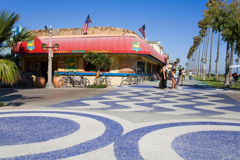 Cabo cantina in Balboa Village, City of Newport Beach,Orange County, California, USA
