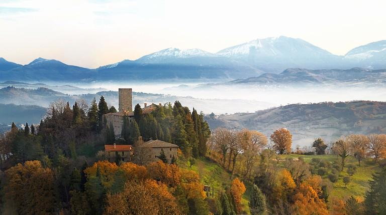 Castello di Petroia, Italy