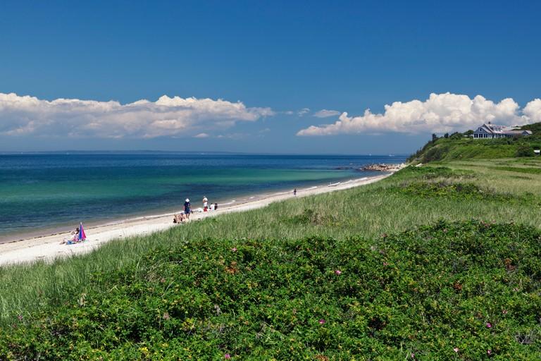 Menemsha Beach Martha's Vineyard Massachusetts New England USA