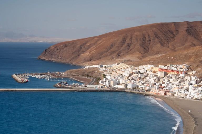 Gran Tarajal on Fuerteventura, Canary Islands, Spain
