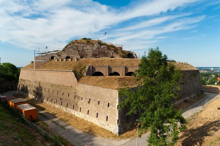 Fort Sint Pieter (Fort St. Peter), Maastricht, Limburg, The Netherlands, Europe