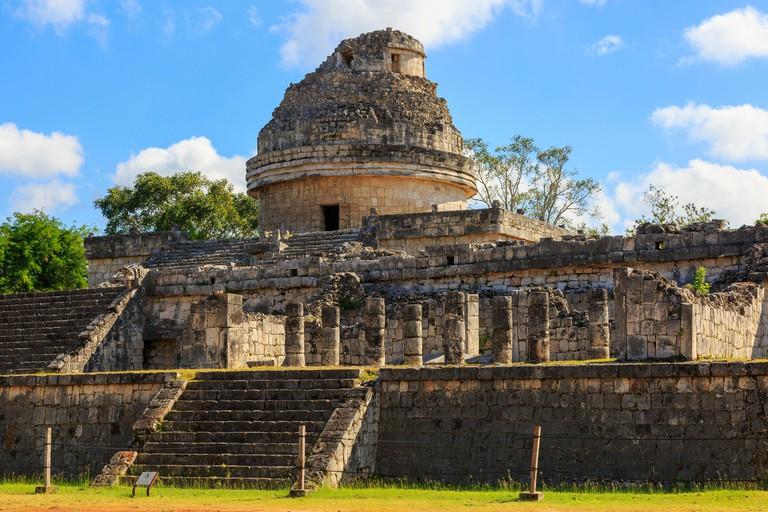 The Observatory, Chichen Itza, Yucatan Provence, Mexico