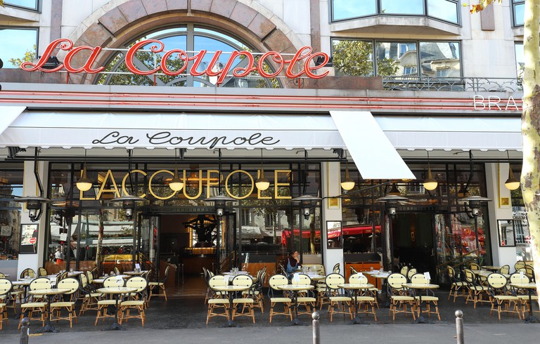 The famous cafe La Coupole, Paris, France. PMKK7K