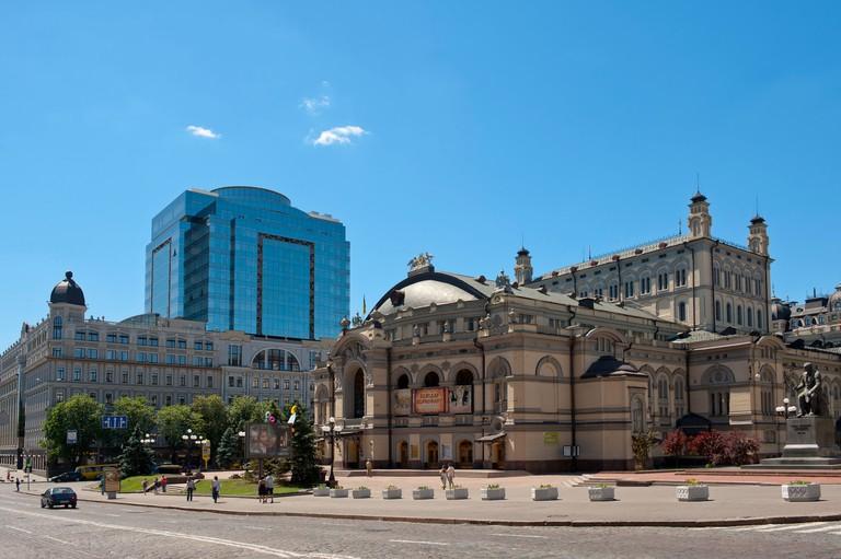Ukraine National Opera House, Kiev, Ukraine, Europe