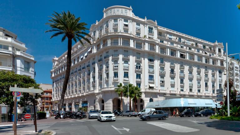 Miramar Hotel, La Croisette, Cannes, Cote d?Azur, Southern France, France, Europe, PublicGround