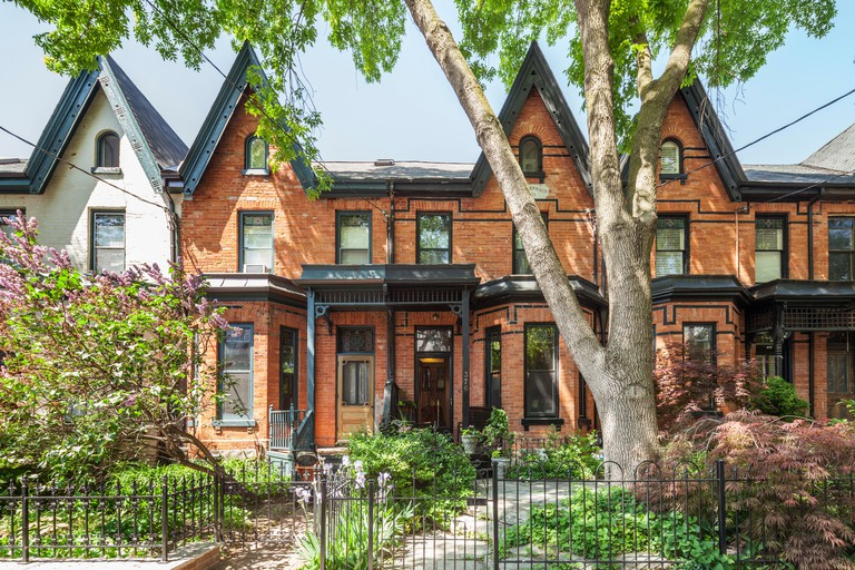 Cabbagetown Victorian Houses, Toronto