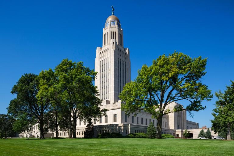 Nebraska State Capitol, Lincoln, Nebraska, USA