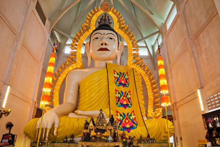 Asia, Singapore, Religion, Sakya Muni, Buddha Gaya Temple, Temple of One Thousand Lights, Temple of 1000 Lights, 1000 Lights Tem