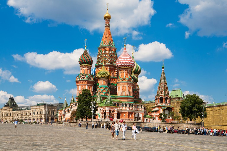St Basil's Cathedral, Moscow. Image shot 10/2012. Exact date unknown.