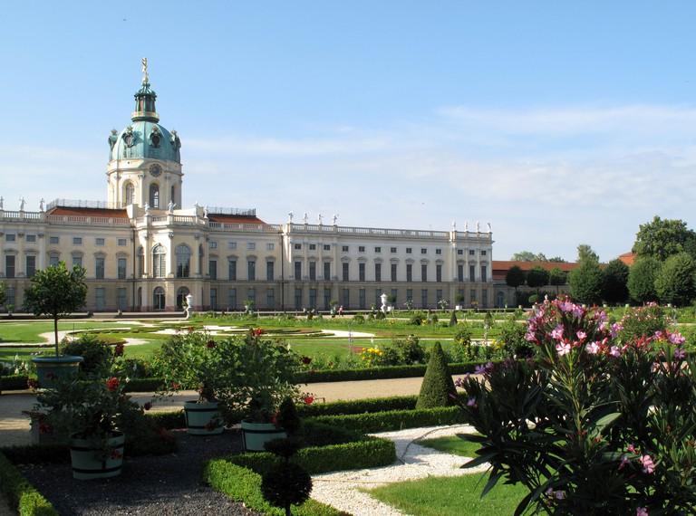Schloss Charlottenburg (Charlottenburg Palace Gardens), Berlin, Germany.