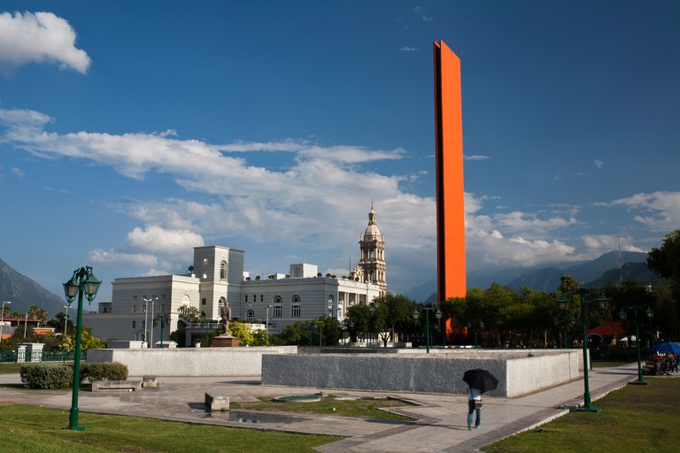 The Macroplaza in the centre of Monterrey, Mexico.