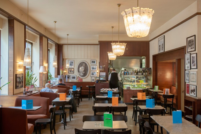 Osterreich, Wien 1, Cafe Korb, Brandstatte 9
