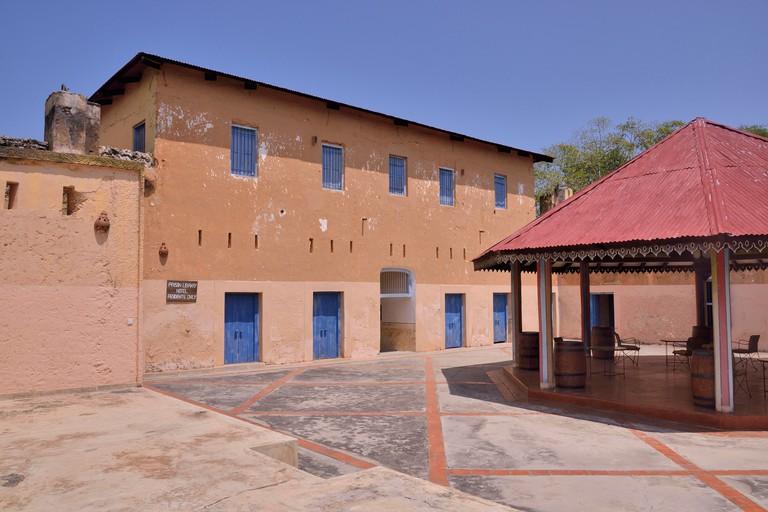Former prison, Changuu Island, Zanzibar Archipelago, Tanzania