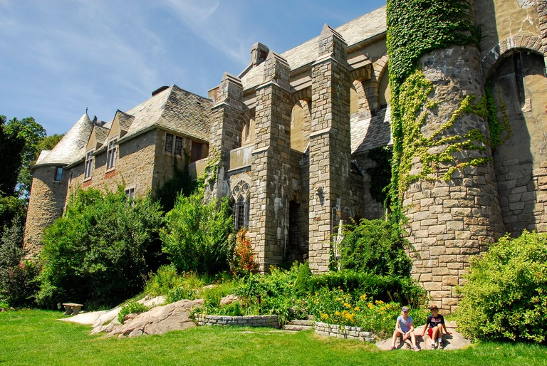 Hammond Castle Museum in Gloucester, Massachusetts, United States of America. Image shot 2013. Exact date unknown.