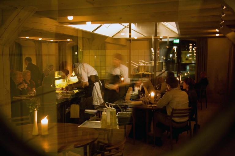 Noma restaurant, Copenhagen.