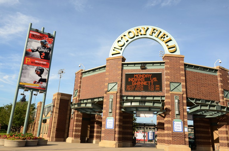 INDIANAPOLIS - JUNE 15: Victory Field, home of the Indianapolis Indians baseball team, is shown June 15, 2014. The indians lost