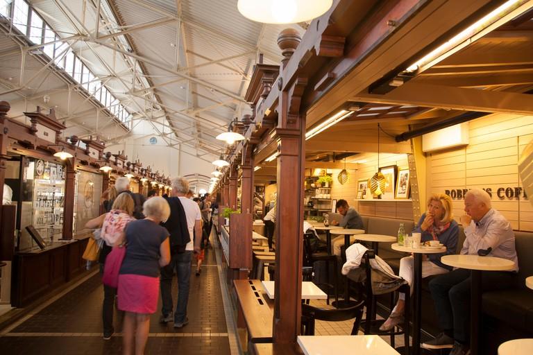 Robert's Coffee Bar Old Market Hall, Helsinki, Finland