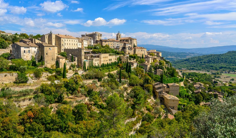 Provencal village of Gordes, South of France